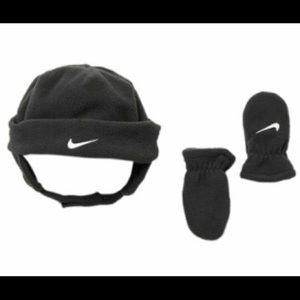 Nike Fleece Cap & Gloves Set - NWT